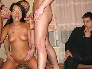 Gf sold for a triple fuck